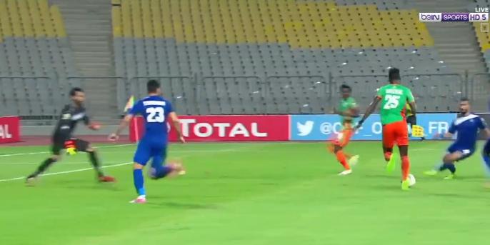 بالفيديو : سموحة يتعادل مع زيسكو يونايتد اليوم الجمعة  30-06-2017 كأس الكونفيدرالية الأفريقية