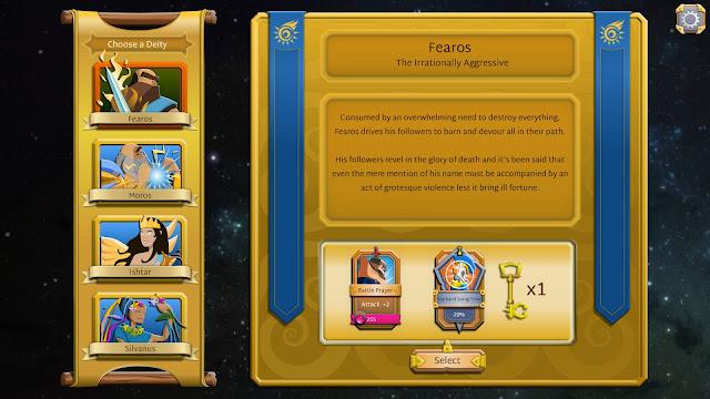 Screenshot from Godus Wars