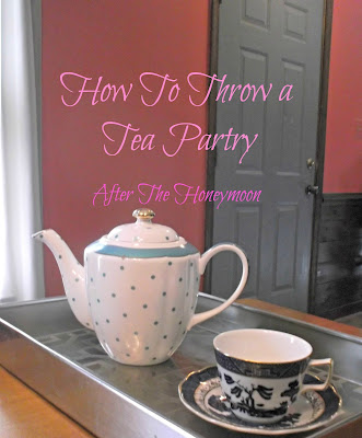 Tea Party tips