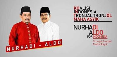 "Viral! Meme Kocak Ala ""Capres Nurhadi-Aldo"""
