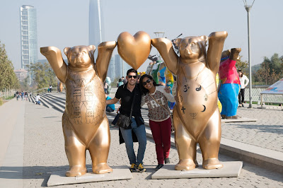 parque bicentenario santiago  bears of the world