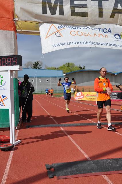 En la 38º edición de la media maratón de Coslada
