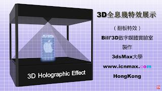 3D全息幾特效展示