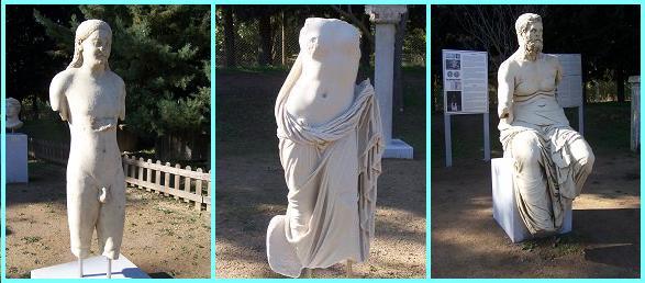 Kuros - Afrodit -  Homeros