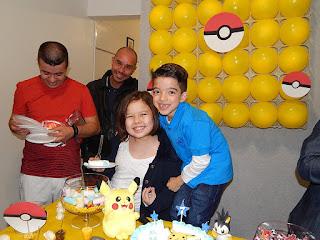Festa Tema Pokémon