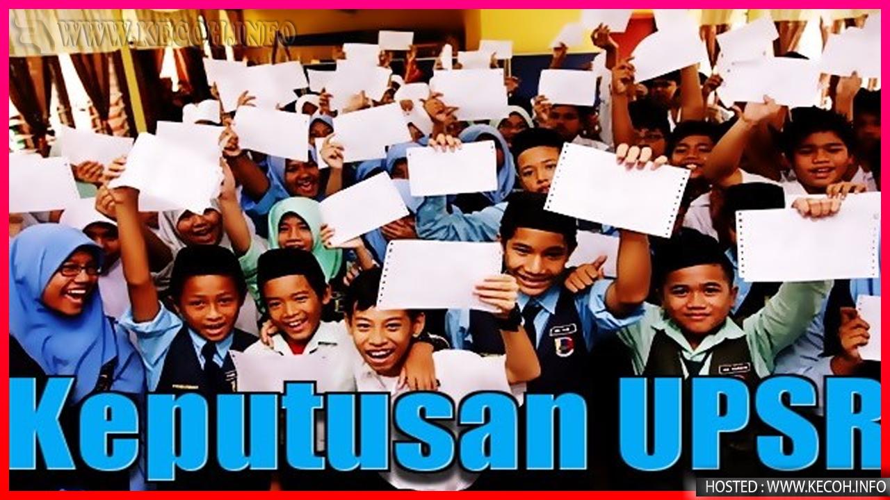 Tarikh Keputusan UPSR 2018 Dan Cara Menyemaknya