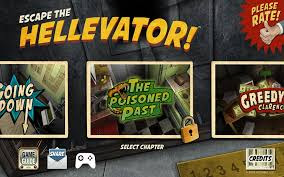 Free Download Game Escape the Hellevator! MOD APK+DATA (ALL CHAPTERS UNLOCKED) Terbaru 2018