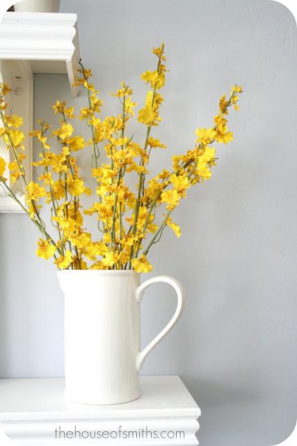 Kitchen Table Flower Arrangements