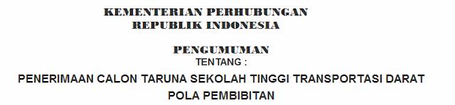 Informasi Lowongan Kerja Terbaru CPNS Ikatan Dinas Kementerian Perhubungan Republik Indonesia Tahun 2016 Tingkat SMA / SMK