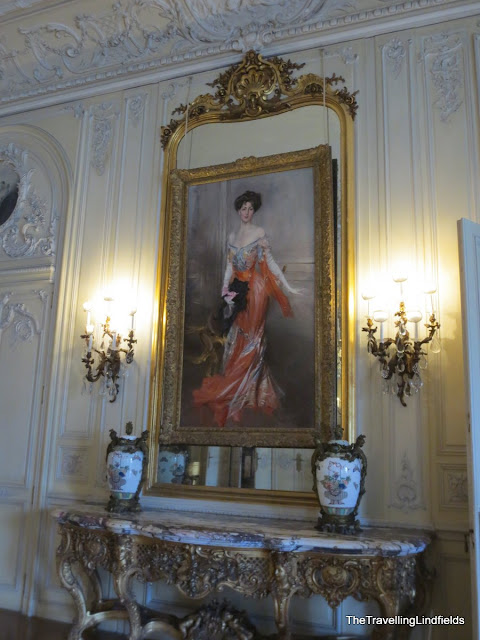 Portrait of Mrs Harry Lehr at The Elms