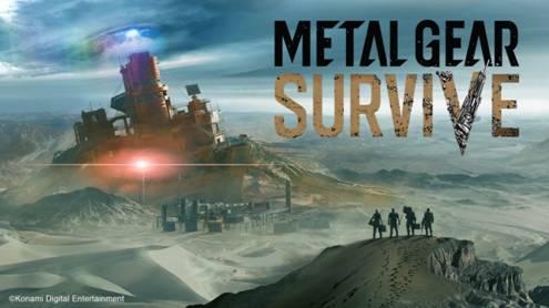 Metal Gear Survive mostrará demo este 17 de septiembre