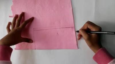 Cara Membuat Tempat Pensil dari Kain Flanel Simpel