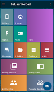 Pengisian Pulsa Lewat Aplikasi Android
