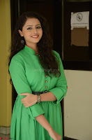 Geethanjali in Green Dress at Mixture Potlam Movie Pressmeet March 2017 084.JPG