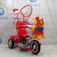 family jelly fish sepeda roda tiga