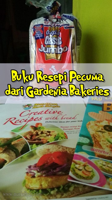 Buku Resepi Pecuma dari Gardenia Bakeries
