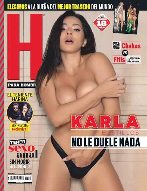 Karla Bustillos Revista H Noviembre 2019 [FOTOS+PDF]