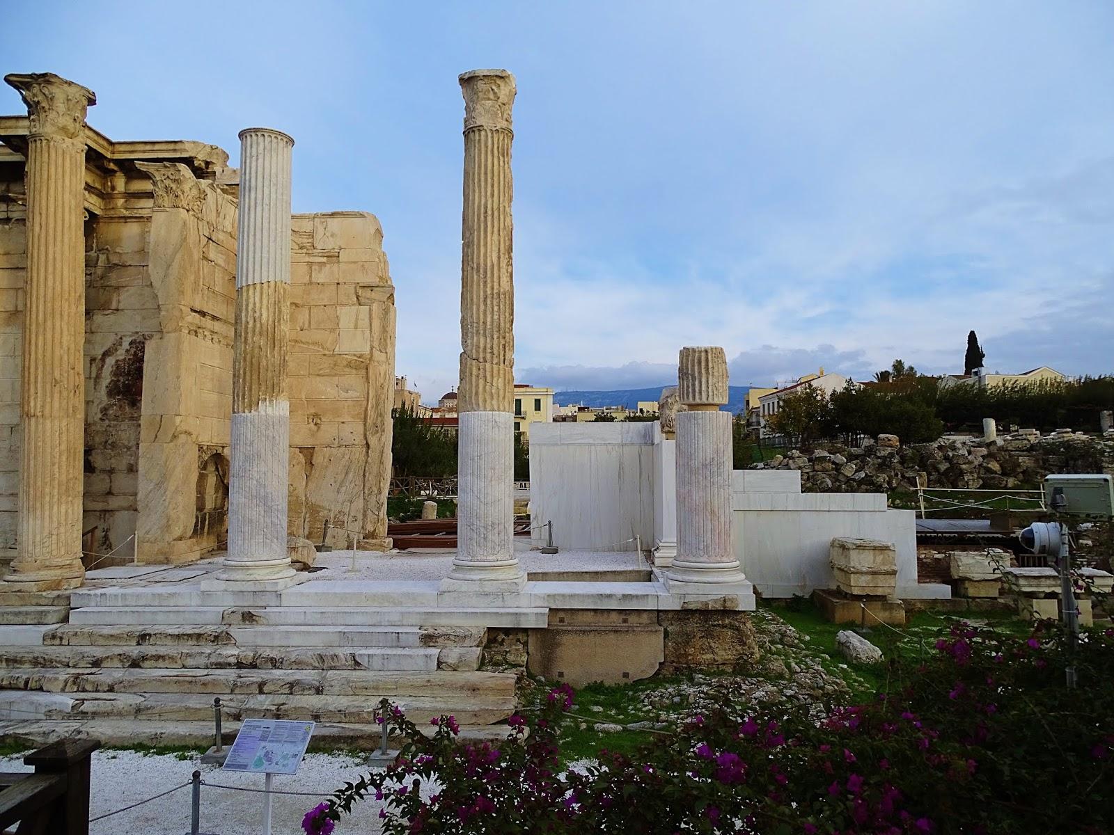 Agora Rzymska, Ateny