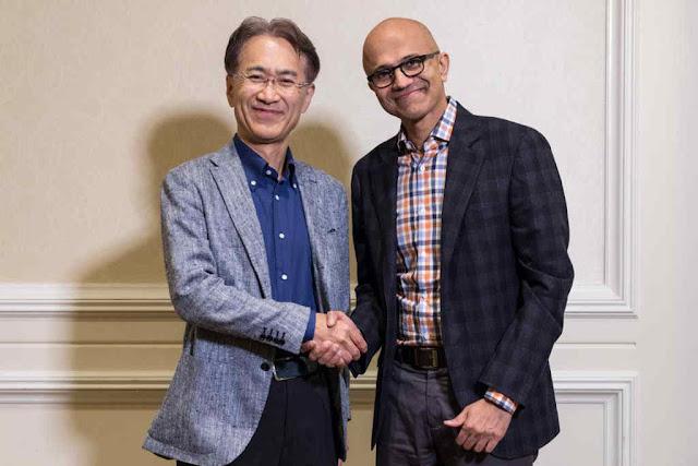 Sony & Microsoft Setuju untuk Mengembangkan Game Bersama