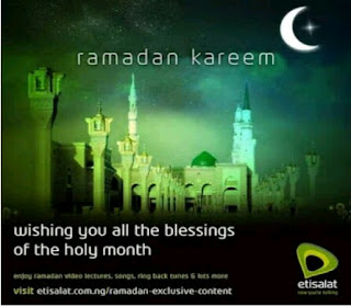 Exlusive Ramadam offer: Activate Etisalat 1GB for 200 Naira