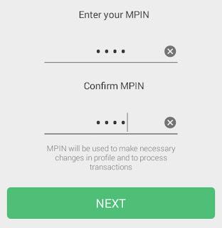 umang app mpin add