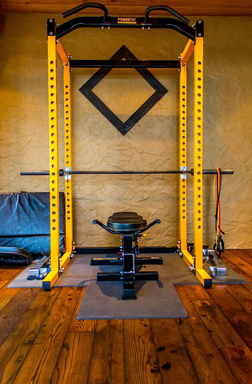 Beautiful inside and out home gyms