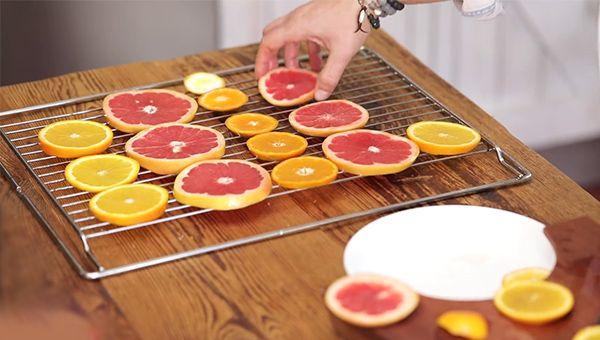 fırında portakal ve mandalina cipsi yapımı - KahveKafeNet