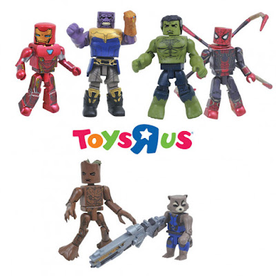 Avengers: Infinity War Minimates Series 1 by Diamond Select Toys x Marvel