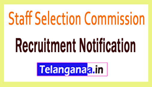Staff Selection Commission SSC Recruitment