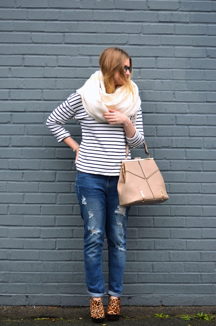 How to wear boyfriend style jeans, fashion bloggers, street style