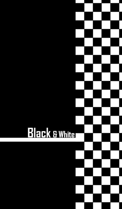 Black & White (Checkers)