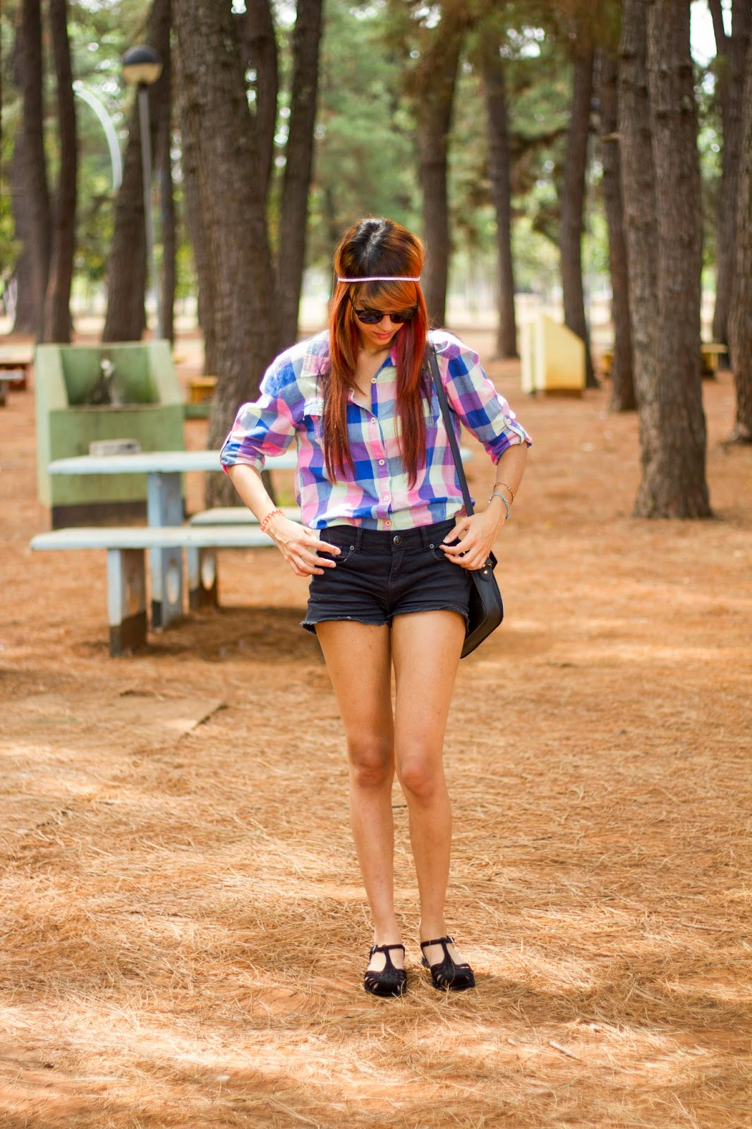 Look do Dia: Plaid Shirts and a Fox