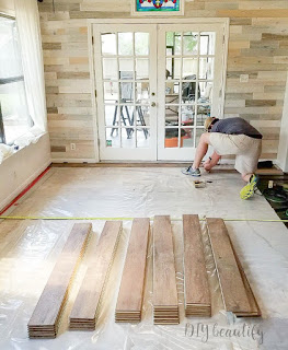 installing laminate floors