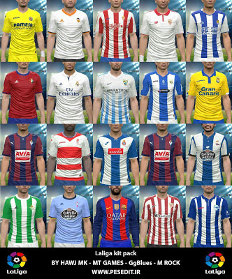 PES 2016 Full GDB KitPack AIO Update v4.5 by G-Style