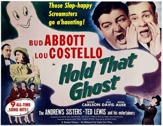 Poster - Hold That Ghost (1941)