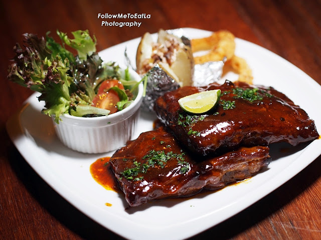Honey Glazed BBQ Pork Ribs RM49.90