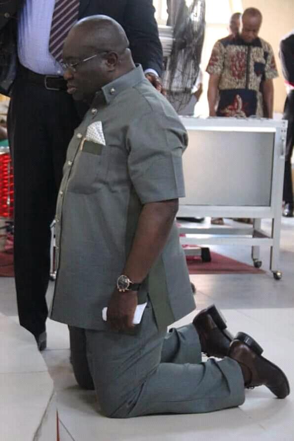 @GovernorIkpeazu:The Governor who Fights on his Knees  - By @JohnOkiyiKalu