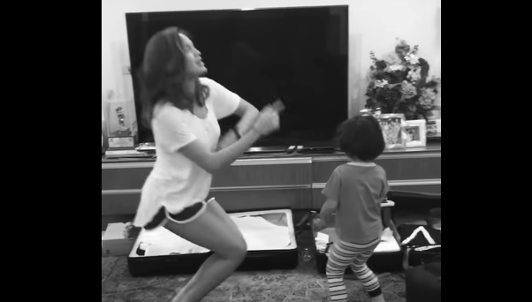 Sarah Lahbati Receive Criticisms After Dancing This Way With Son Baby Zion