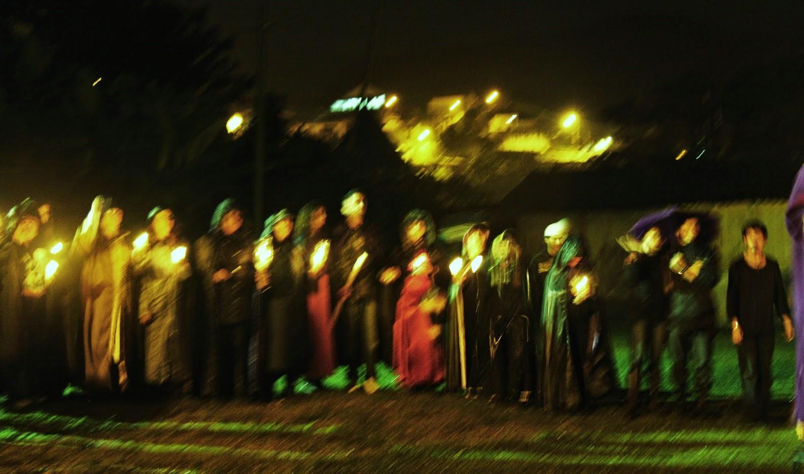 Convenção das bruxas, em Paranapiacaba.