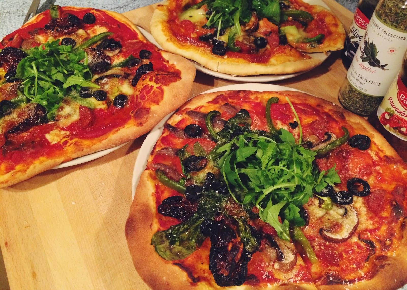easy pizza recipe, UK lifestyle blog