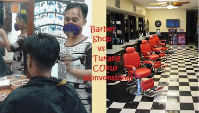 5 Perbedaan Barber Shop dan Cukur Rambut Konvensional