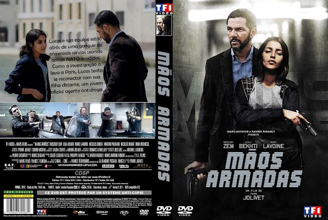 Capa DVD Mãos Armadas