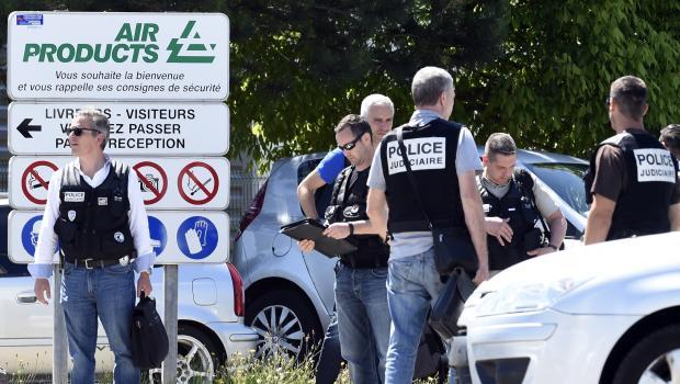Atentado terrorista contra usina de gás na França