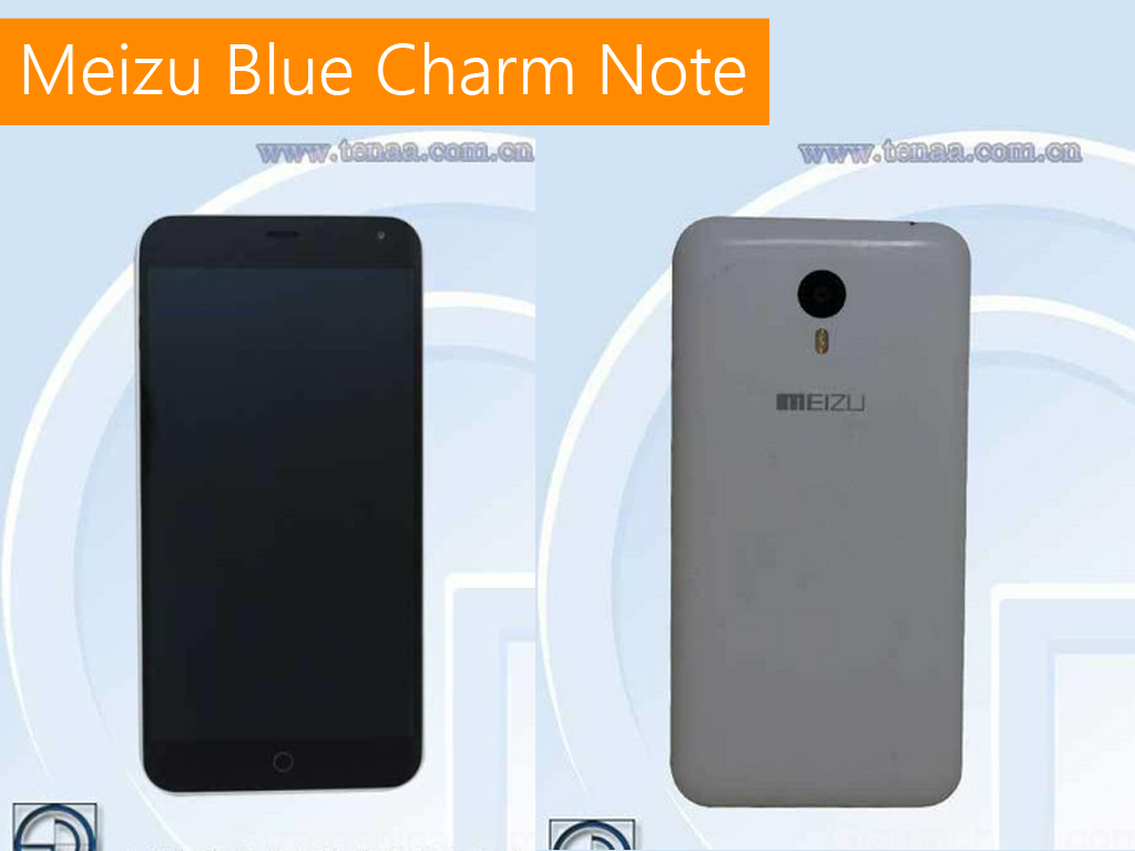 Meizu Blue Charm Note Certified in China! Octa-core, 2GB RAM, 13MP Camera