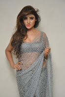Actress Sony Charistha Latest Pos in Silver Saree at Black Money Movie Audio Launch  0050.jpg