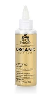 Cuidado purificante para el cabello.