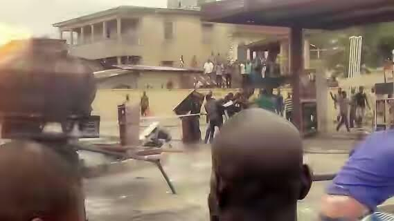 Petrol Tanker Goes Up In Flames At Osun Filling Station [See Photos]