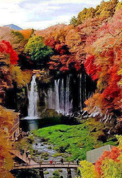 Fukuroda falls,Japan