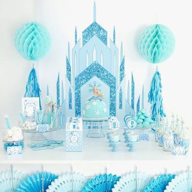 Un Anniversaire DIY Thème Reine des Neiges