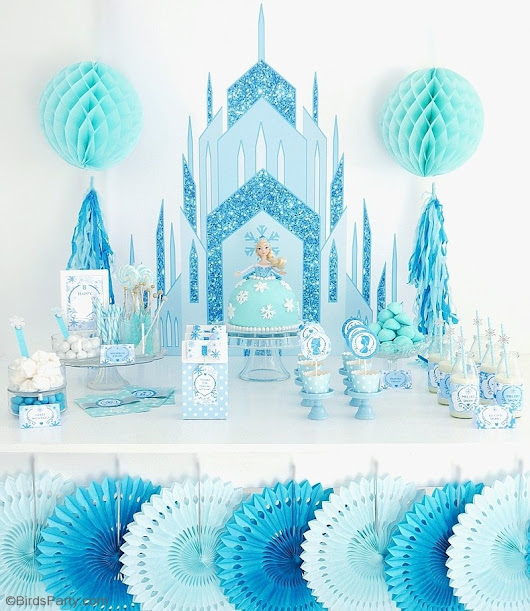 A Frozen Inspired Birthday Party | Party Ideas | Party Printables
